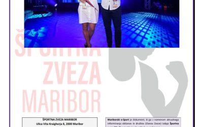 Mariborski e-šport  – Izbor športnika leta 2019