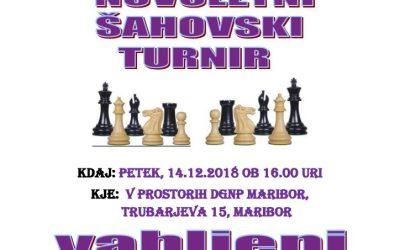 14. 12. 2018 Novoletni šahovski turnir