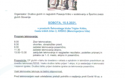 Državno prvenstvo gluhih v šahu